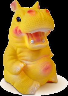 Картинка игрушки бегемота из детской стоматологии